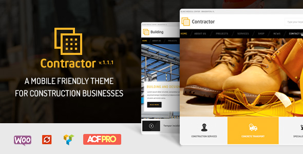 Contractor – Construction, Building HTML Template - 3